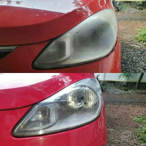 Head Lamp Restoration