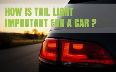 How is Tail Lights important for a car ?