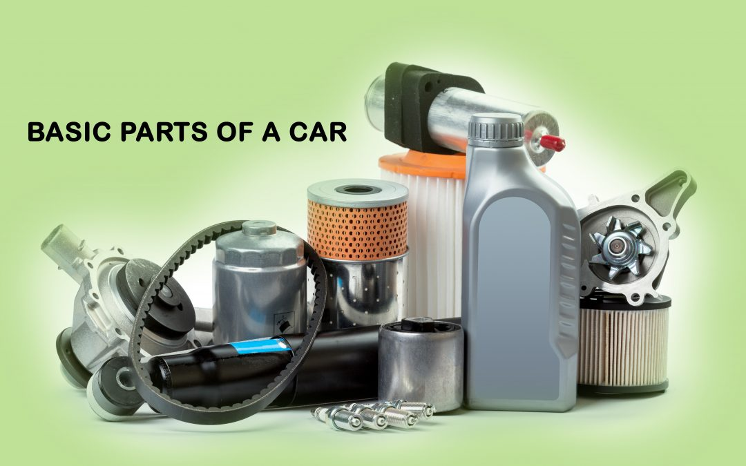 Basic parts of a car and their functions